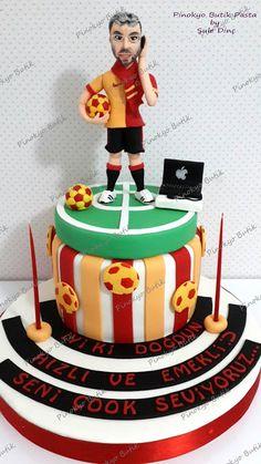 Pinokyo Butik Pasta ve Kurabiye - İzmit: Fanatik pasta... Cupcake, Muffin, Lime, Birthday Cake, Apple Iphone, Desserts, Rabbit, Football, Food