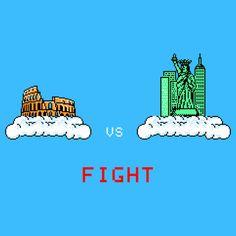 Rome vs NY