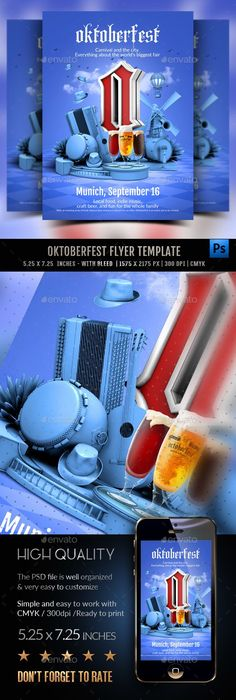 Octoberfest Flyer Template