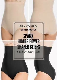 1b960bf8dc The Spanx Higher Power Shaper Briefs are one of our all time classic BEST  SELLERS. The reason is that they work wonders on your figure.