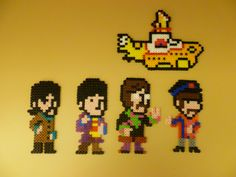 The Beatles pixel art  #thebeatles #pixelart #yellowsubmarine