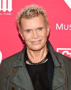 Billy Idol (William Michael Albert Broad) was born in England and has an estimated net worth of $35 million dollars.  A singer-songwriter, musician,