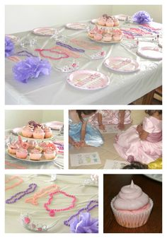 Princess Party Idea #princessparty #princesspartyideas #partytable #princess #partyfavors #itsaprincessthing