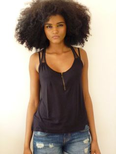 Me likey messy fros...