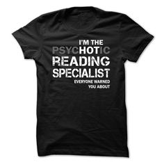 Awesome T-shirts  Reading Specialist HOT from (3Tshirts)  Design Description: Reading Specialist  If you don't completely love this Tshirt, you'll SEARCH your favourite one via using search bar on the header.... -  #bacon #birthday #funny #humor #science - http://tshirttshirttshirts.com/funny/best-sales-reading-specialist-hot-from-3tshirts.html Check more at http://tshirttshirttshirts.com/funny/best-sales-reading-specialist-hot-from-3tshirts.html