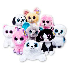 Cashmere, Magic, Speckles, Nacho, Peanut, Iceberg, Pepper, Princess, & Spells! So Cute!