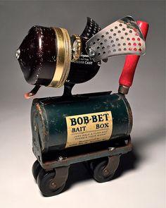 Bob the Dog Assemblage Art Robot by KitchyBots on Etsy