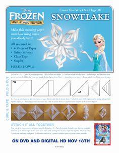 Elsa Snowflakes.