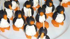 Des pingouins en entrée.