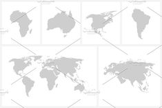 World map png transparent background google search card game vector world map continents by expressshop on creativemarket gumiabroncs Images