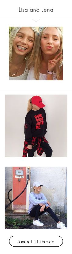 Designer Clothes, Shoes & Bags for Women Twin Outfits, Cute Outfits, Verona, Bff, Lisa Or Lena, Celebs, Celebrities, Twins, Calvin Klein