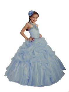 Pageant Dress for Girls by Tiffany Princess Glitz 33423 - Sky Blue, size 6   Tiffany Designs Princess ball gowns will make your little girl feel like a real princess. Read  more http://shopkids.ca/pageant-dress-for-girls-by-tiffany-princess-glitz-33423-sky-blue-size-6/