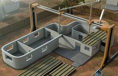 Building a home in 24 hours using 3D printers via @missmetaverse www.futuristmm.com