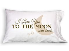 Faceplant Love You to Moon Pillowcase FP1015