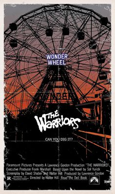 The Warriors by onetwentythree, via Flickr alternative movie poster film