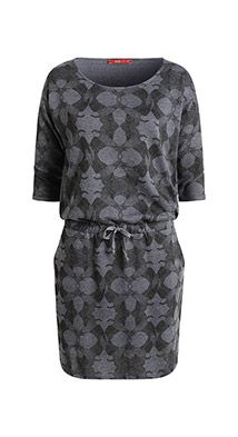Esprit / sweatshirt, drawstring waist dress