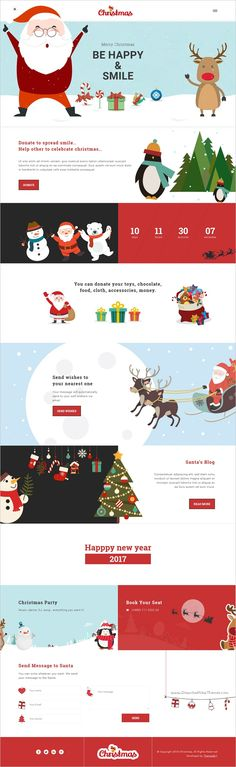 Christmas is an awesome #bootstrap template for #webdesign #Christmas and #NewYear Party website with wish mailer and stunning animation effect download now➩  https://themeforest.net/item/christmas-new-year-party-template-with-wish-mailer/18747732?ref=Datasata
