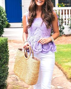 This is Sun Flares and Fun Fridays! Excited that the weekend is finally here ☀️ hoping for no more rain! In the mean time I'm loving all the summer finds and this lavender top is no different! Also comes in ivory and in black   Instagram Profile (@Lejla O. Hasanovic). Here you can find all fashion style photos and videos posted by Lejla O. Hasanovic on Instagram.You can see all posts, likes, followers, comments, etc related to Sun Flares and Fun Fridays! Excited that the weekend is finally…
