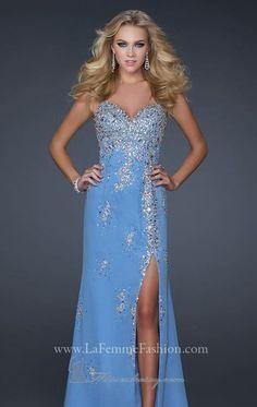 La Femme 17431 Vestido - MissesDressy.com