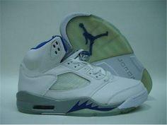Nike Air Jordan 5 V Mens Shoes 2012 White Outlet