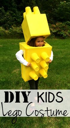 DIY Kids Lego Costume - The Frugal Navy Wife