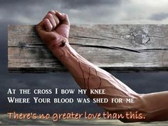 No greater love than this.
