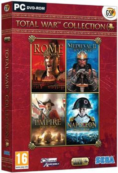 Total War Collection (PC DVD) - http://www.cheaptohome.co.uk/total-war-collection-pc-dvd/?utm_source=PN&utm_medium=Manasak&utm_campaign=SNAP%2Bfrom%2BBestseller  Total War Collection (PC DVD) Short Description  Titles include Rome Total War, Medieval II Total War, Empire Total War and Napoleon Total War.    The award winning Total War strategy gaming series is the perfect mix of turn based campaign game play and epic real time battles. From Ancient Rome to the Napoleonic w