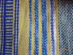 telar mapuche: ojitos de perdíz, lisos, peinecillo.