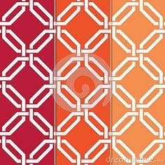 Interlocked Geometric Pattern by Junglebay, via Dreamstime