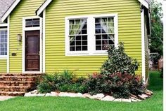 How about a funky color for the exterior of your home? Pick between these funky colors: