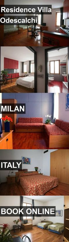 Hotel Residence Villa Odescalchi in Milan, Italy. For more information, photos, reviews and best prices please follow the link. #Italy #Milan #travel #vacation #hotel