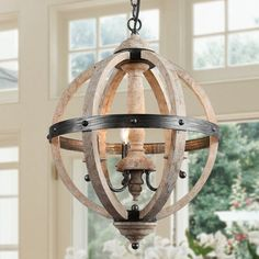 Farmhouse Chandelier Light with Pendant Lighting for Dining Room – x (Indoor), Brown Bauernhaus Kronleuchter mit 3 … Farmhouse Chandelier Lighting, Kitchen Chandelier, Dining Lighting, Ceiling Chandelier, Black Chandelier, Kitchen Pendant Lighting, 3 Light Pendant, Pendant Chandelier, Globe Pendant