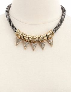 Bead Arrow Necklace: Charlotte Russe