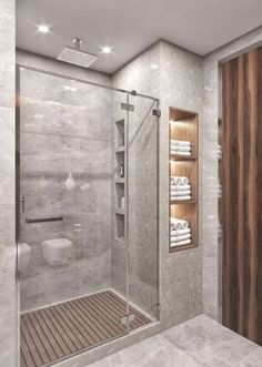 Modern Farmhouse, Rustic Modern, Classic, light and airy master bathroom design tips. Bathroom makeover tips and master bathroom renovation some ideas. Bathroom Design Luxury, Modern Bathroom Design, Designs For Small Bathrooms, Contemporary Bathrooms, Grey Modern Bathrooms, Light Grey Bathrooms, Latest Bathroom Designs, Small Bathroom Interior, Modern Bathroom Accessories