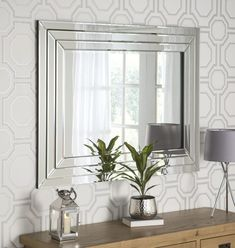 Cavello Rectangular Wall x - available to buy online or at Choice Furniture Superstore UK on stockist sale price. Get volume - discount with fast and Free Delivery. Beveled Mirror, Glass Mirrors, Wall Mirrors, Venetian Mirrors, Living Room Mirrors, Living Room Decor, Extra Large Mirrors, Hallway Mirror
