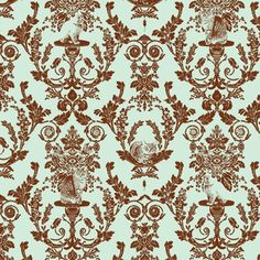 Shop the world's largest marketplace of independent surface designers - Spoonflower Vintage Bathroom Vanities, Surface Design, Custom Fabric, Damask, Spoonflower, Craft Projects, Designers, Quilts, Shop