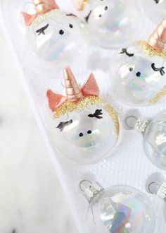 Unicorn Ornaments | Posh Little Designs | Beautiful Cases For Girls