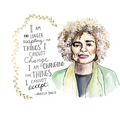 Angela Davis, one of the celebrities who spoke during the Women's march in Washington D.C.