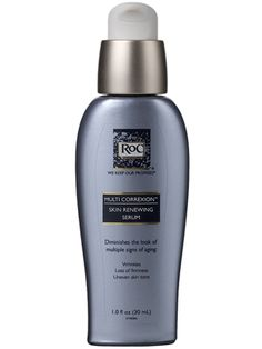 RoC Multi Correxion Skin Renewing Serum; Diminishes wrinkles and lines, evens tone, and brightens and firms sagging skin using a combination of retinol and antioxidants