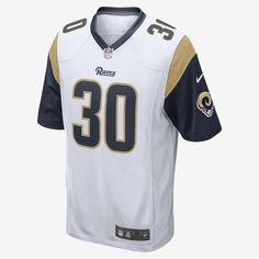 4da103bc5 Nike NFL Los Angeles Rams Todd Gurley  30 Men s M Away Game Jersey 880118  107