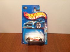 Hot Wheels Sling Shot #166 Work Crewsers 2004 White w/ PR5 Wheels Thailand #HotWheels