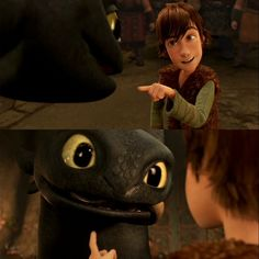 Hiccup and Toothless <3 <3 <3