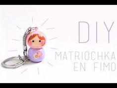DIY Fête des mères : Matriochka en Fimo / Chibi - Polymer Clay Matryoshka (English subs) - YouTube