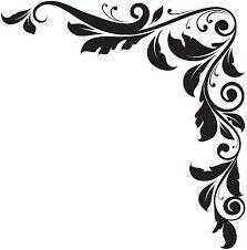Krásný Květinový Vzor, designový Prvek Ve Starém Stylu Royalty Free Kliparty, Vektory A Ilustrace. Flower Background Design, Cross Drawing, Free Paper Texture, Frame Border Design, Bamboo Art, Leaf Texture, Ganesha Art, Black And White Posters, Writing Art