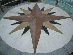 Estrella en mirador. Cudillero (Asturias)