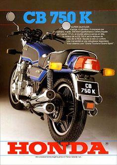23190. - MOTORCYCLE - HONDA 1981 - CB 750K - SUPER QUATUOR - 29x41-.