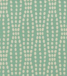 Eye catching dots perfect for mix and match applications, easily complement any design theme you have at home. Content: 70% Cotton, 30% Polyester Width: 55 Inches Fabric Type: Print Upholstery Grade: