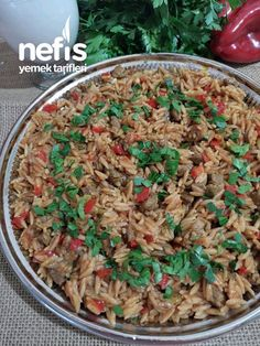 Ankara, Fried Rice, Real Food Recipes, Salsa, Fries, Cooking, Ethnic Recipes, Recipies, Kitchen