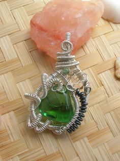 A personal favorite from my Etsy shop https://www.etsy.com/listing/292552509/original-heady-wire-wrapped-pendant