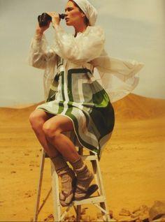 Paris Vogue & model Erin Wasson on location in Peru | Keep it Chic
